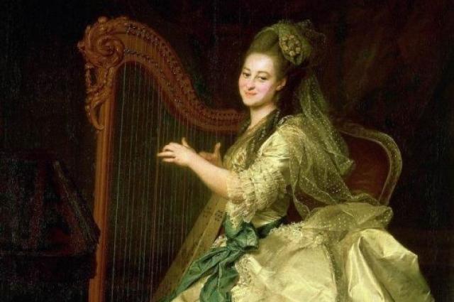 Портрет является одним из семи портретов цикла «Смолянки», созданного Д.Г. Левицким в 1772–1776 годах.