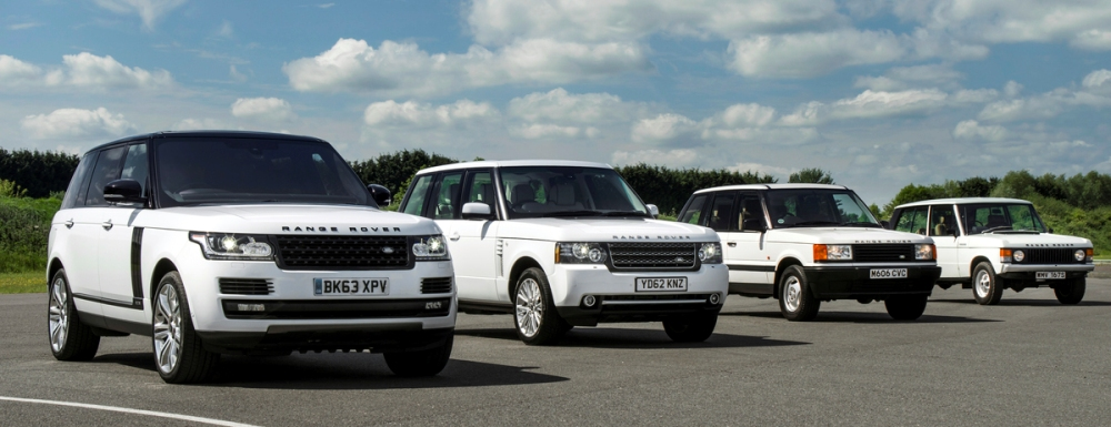 Флагман модельного ряда Range Rover занял первую строчку в сегменте SUV(E).