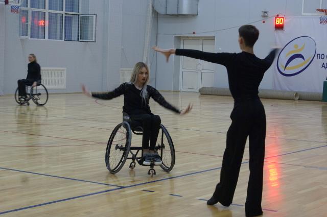 Открытая тренировка в преддверии Кубка России по спортивным танцам на колясках
