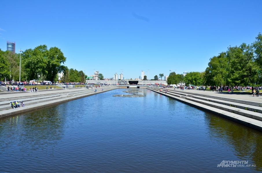 Исторический сквер в Екатеринбурге.