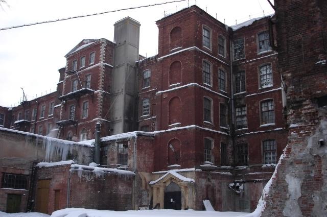 Так здание выглядело до реконструкции.