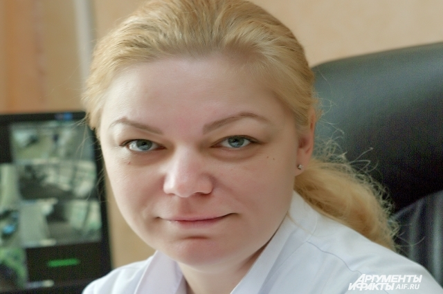 Главный врач ЦРБ Ольга Герцог.