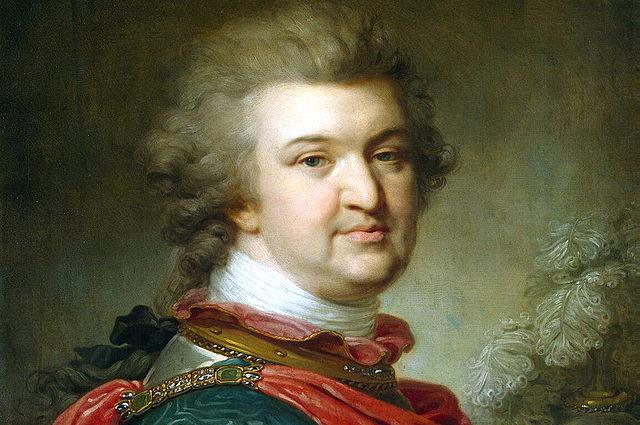 Потёмкин незадолго до смерти, апрель 1791 года