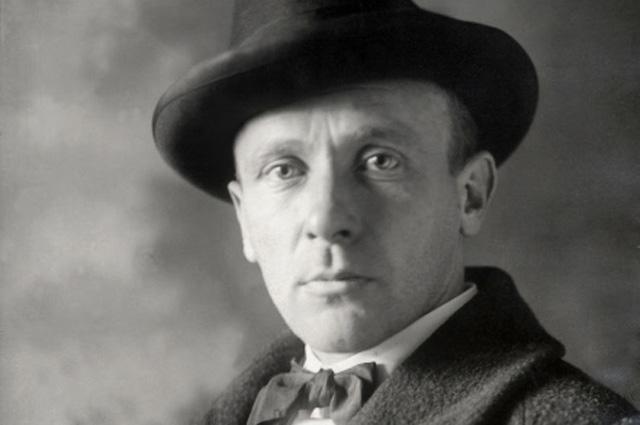 Русский советский писатель Михаил Афанасьевич Булгаков (1891-1940). 1928 год.