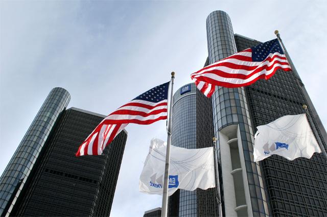 Штаб-квартира General Motors в Детройте