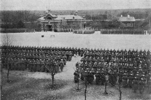 Крепость Осовец, 1915 год