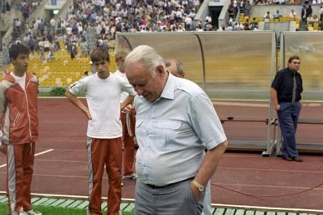 Константин Бесков и «Динамо» в 1995 году.