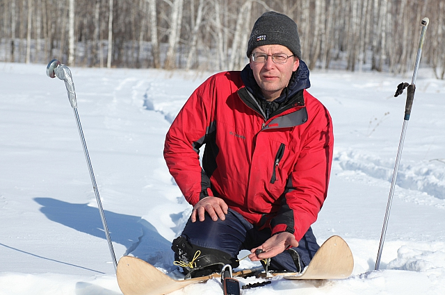 За Челябинским метеоритом охотники ездили на лыжах