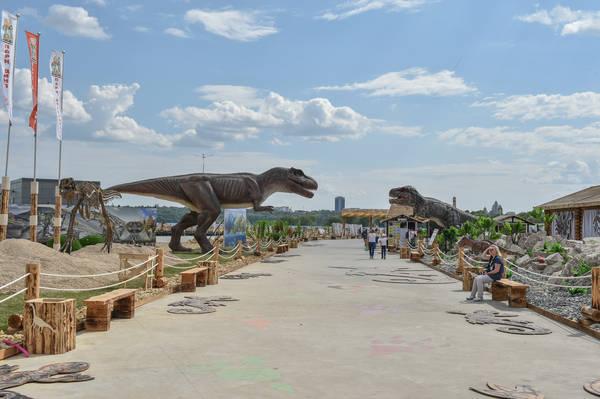 парк динозавров, юркин парк