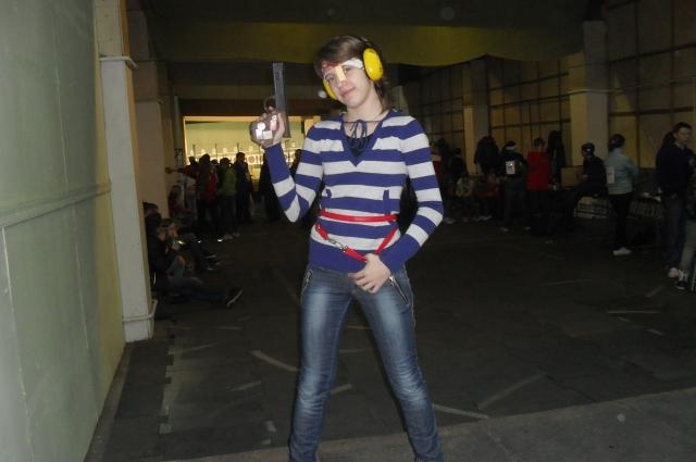 Виталина начала заниматься стрельбой с тренером с 12 лет.