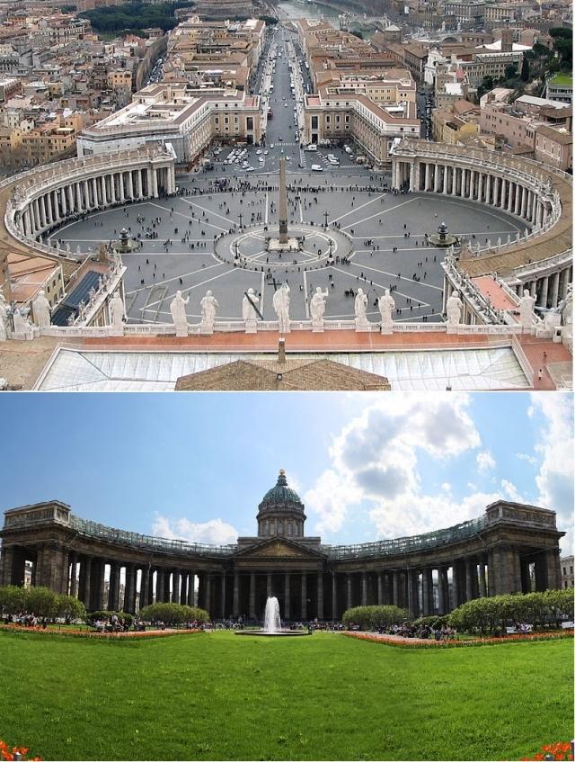 У двух храмов очень много принципиальных отличий.