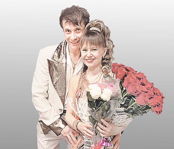 Виталий с женой Инной.
