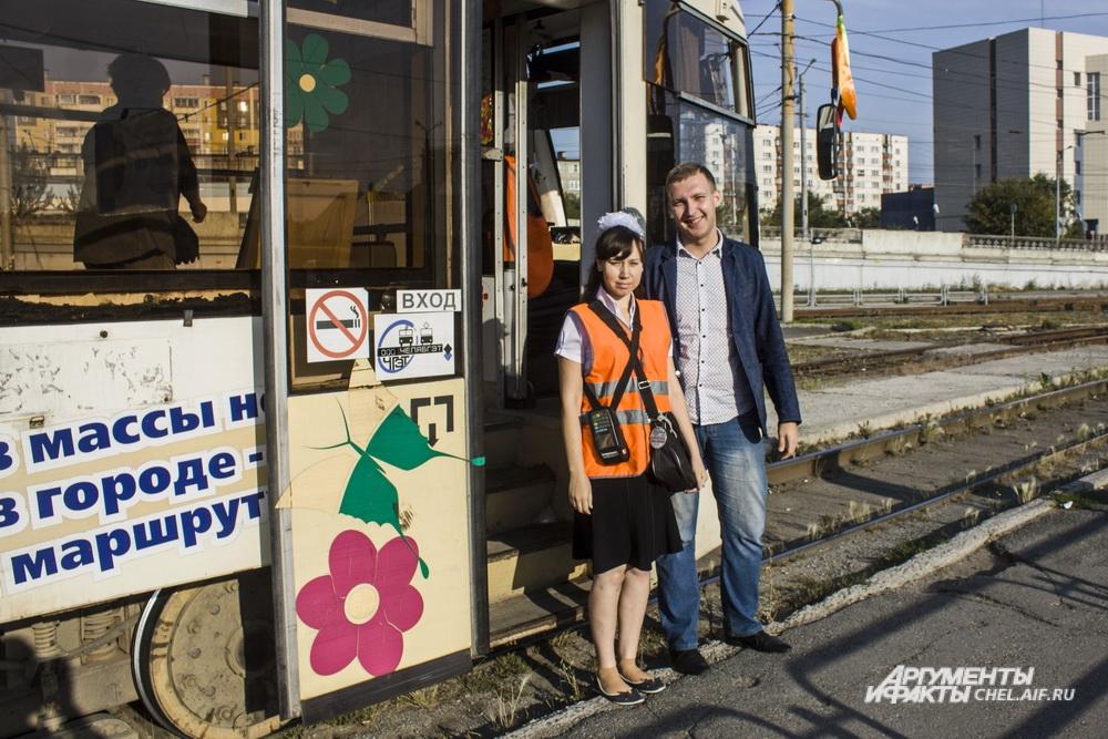 Водитель вагона Сергей Живчик уже участвовал в проектах