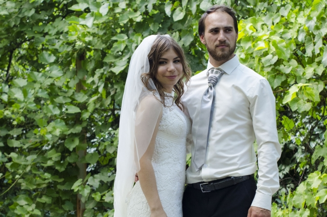 Святослав с женой.