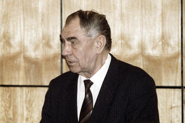 Дмитрий Язов на процессе по делу ГКЧП в Верховном суде РФ. 1993 г.