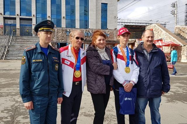 Прикамские школьники - победители чемпионата мира по пожарно-спасательному спорту 2019