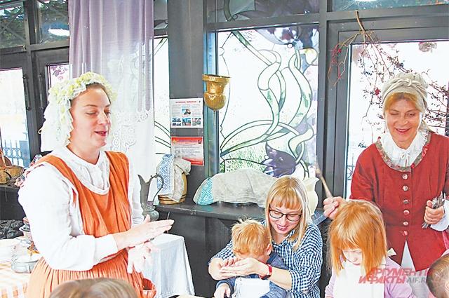 Кулинарные  мастер-классы  на Профсоюзной ул. пользовались большой популярностью  у малышей.
