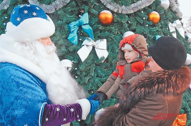 Дед Мороз придёт вКотловку понескольким адресам.