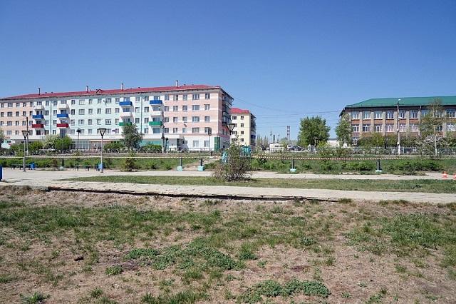 Реконструкция площади в Баймаке