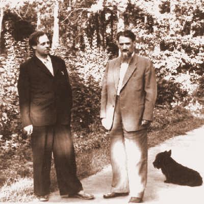 А. Сахаров и И. Курчатов