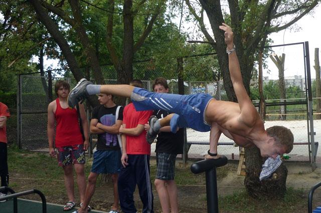 Уличный спорт