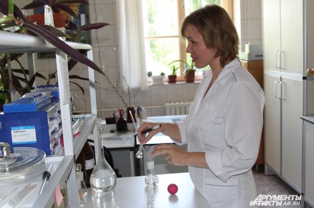 В лаборатории НИИ ПАВ Волгодонска