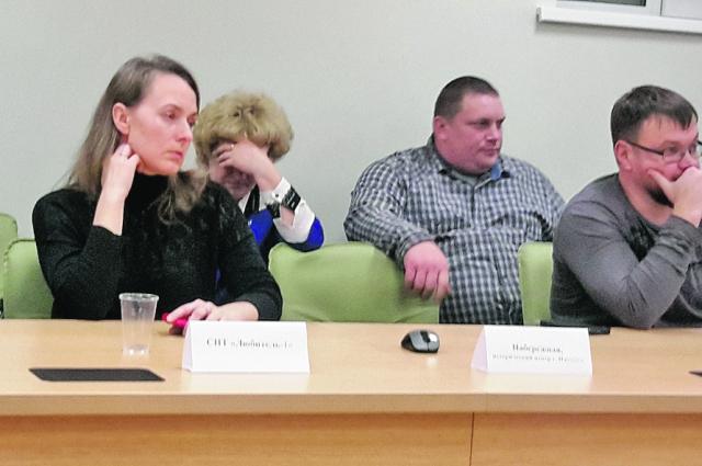 Людмила Гуляшинова, председатель Общественной палаты Ижевска, заснула на встрече, организованной Градсоветом.