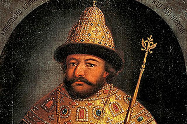 Борис Годунов. Парсуна неизвестного художника середины XVII века