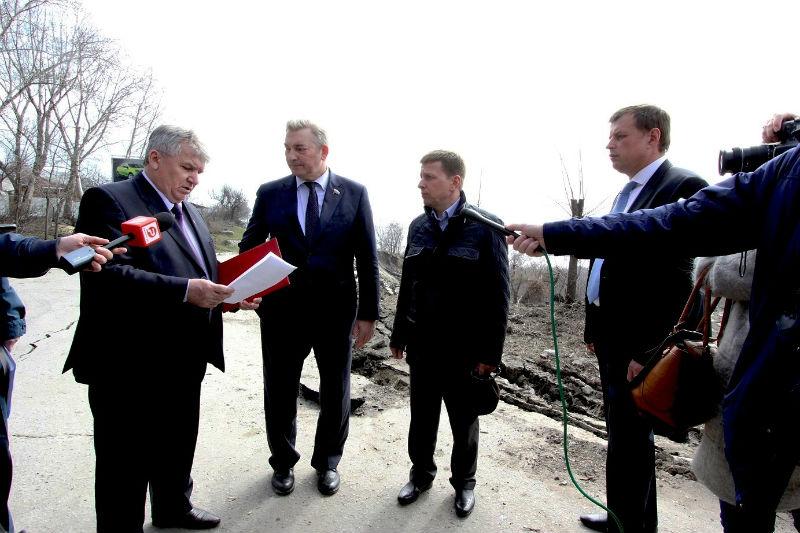 Депутаты нижней палаты Федерального собрания встретились с руководством Ульяновска.