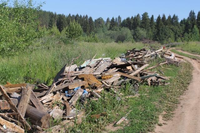 Жители устали лицезреть горы мусора.
