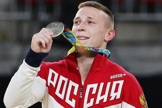Денис Аблязин - пятикратный призер Олимпийских Игр.