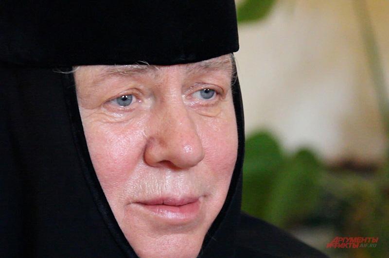 Игуменья Сергия возглавляет монастырь с 1991 года
