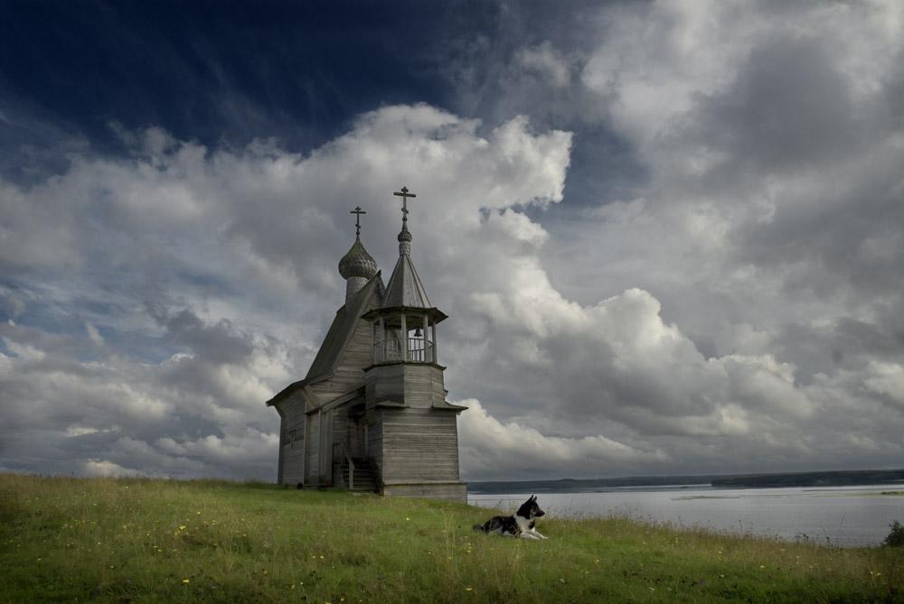 Деревянная часовня. Национальный парк «Кенозерский»