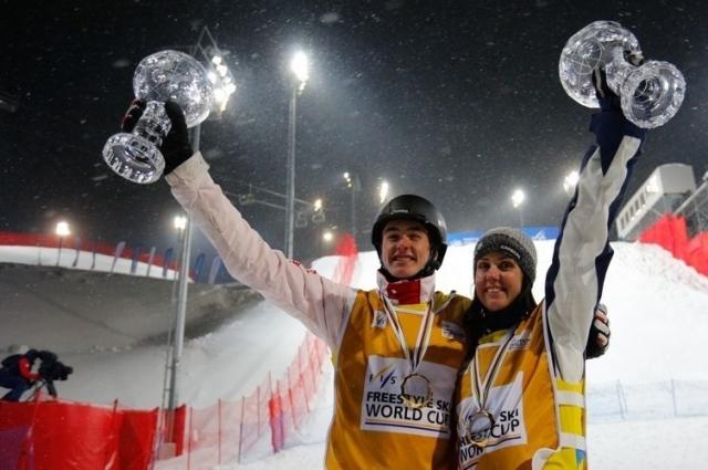 Хрустальные Глобусы забрали австралийка Лора Пил и швейцарец Ноэ Рот.