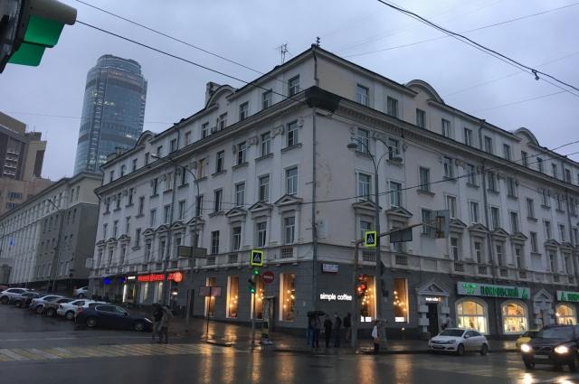 «Дом Артистов» на месте лютеранской кирхи на ул.Ленина, 46 в наши дни.