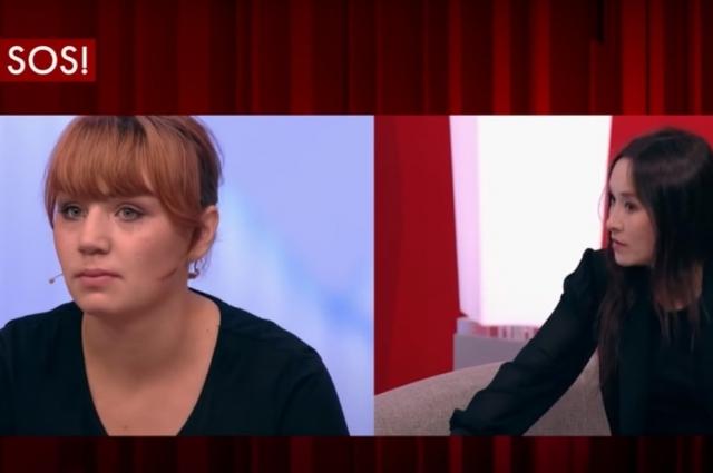 Во время ток-шоу мать пострадавшего мальчика так и не призналась, что была причастна к избиениям.