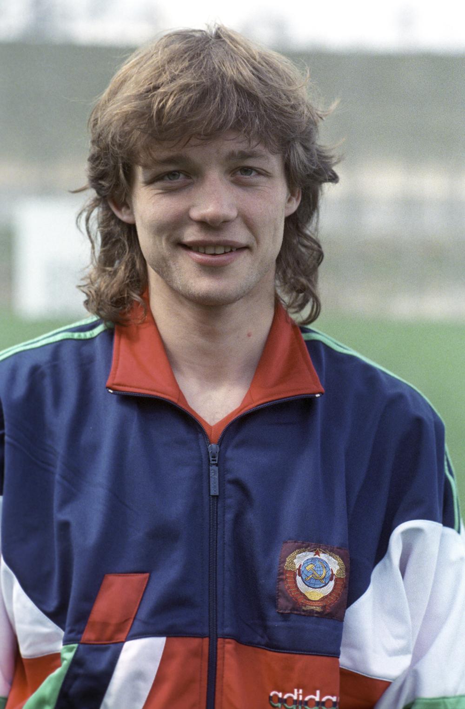 Василий Кульков. 1991 год.