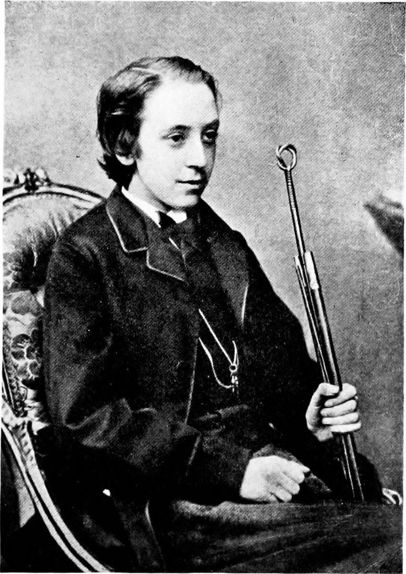 Стивенсон в 1865 году.