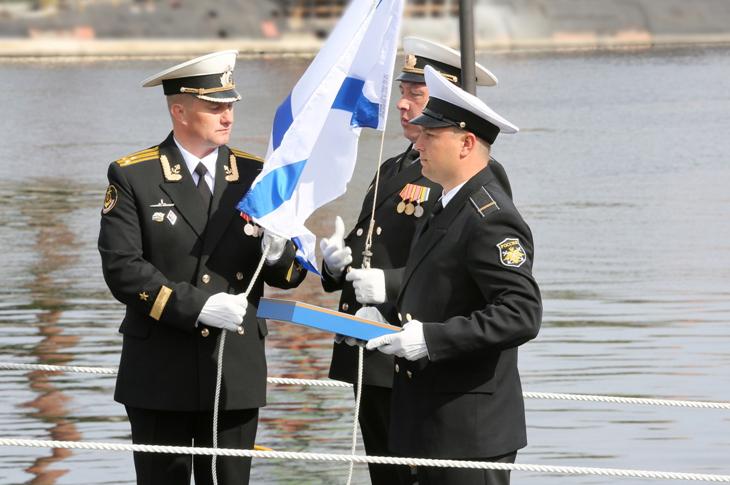 Торжественная церемония передачи АПЛ К-560 Северодвинск ВМФ РФ 17 июня 2014 года