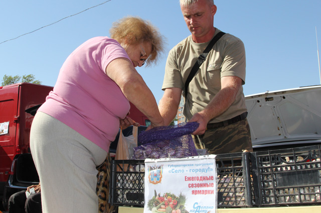 Местный чеснок, выращенный у Романа, жители Ростова-на-Дону ценят выше, чем привозной турецкий