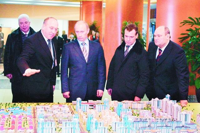 Проект города Спутника в свое время оценили первые лица государства.