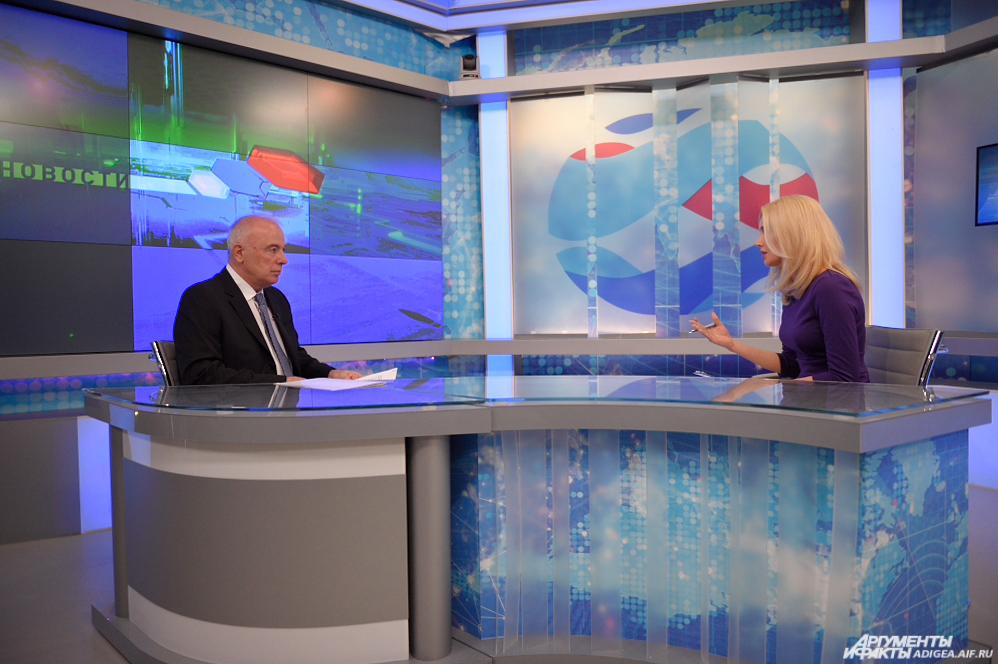 Интервью Аслана Тхакушинова в рамках Дней субъекта в Совете Федерации РФ.