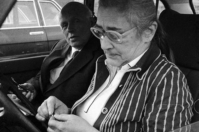 Андрей Сахаров с супругой Еленой Боннэр.