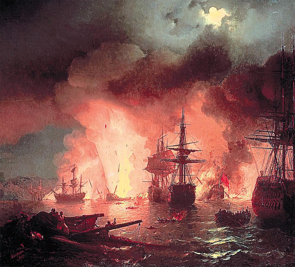««Чесменский бой», 1848 г.»,