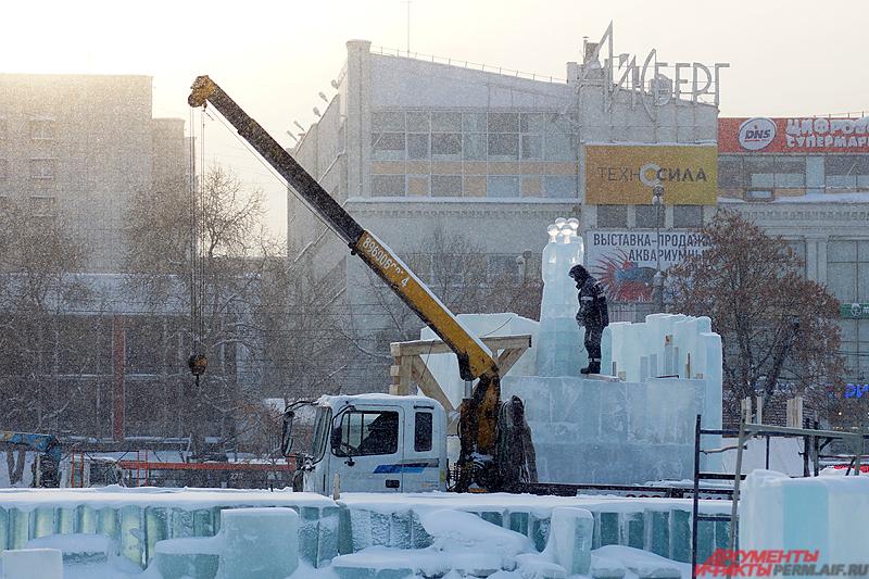 В центре города планируется возвести 21 ледовый объект.