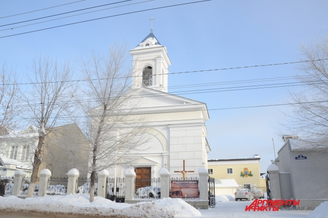В 1844 году заложили Лоретанскую церковь.