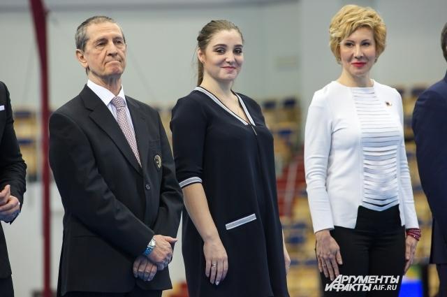 На чемпионат России Алия приехала в качестве почетной гостьи.