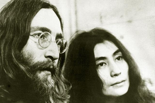 Йоко Оно и Джон Ленон