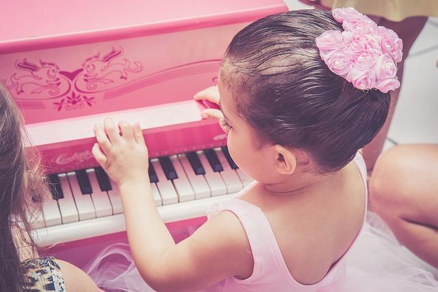 музыка, девочка, пианино
