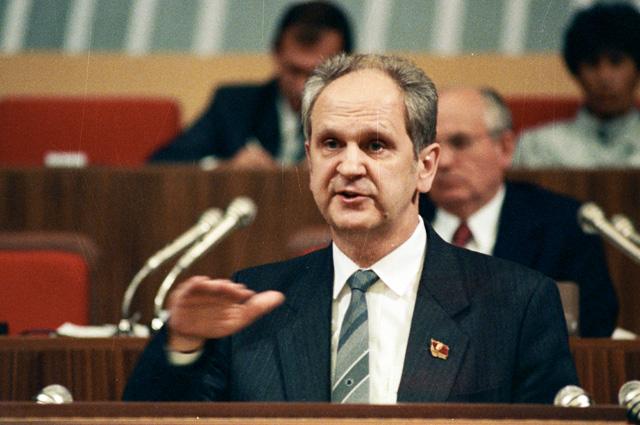 Борис Пуго. 1990 г.